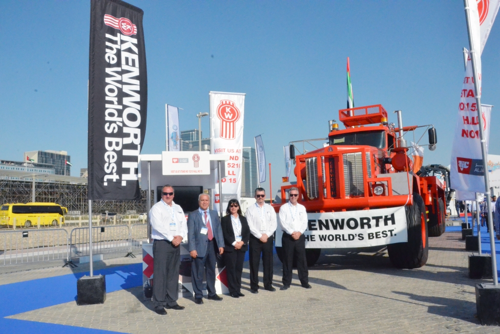 Al Jaber Trading and Kenworth participate in ADIPEC 2016